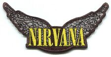 NIRVANA wings logo EMBROIDERED IRON-ON PATCH *Free Shipping* nevermind in utero