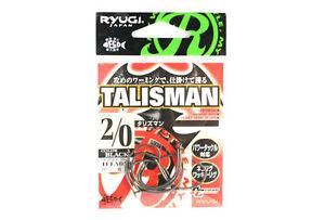 Ryugi HTA053 Talisman Neko Hook Size 2/0 (8572)