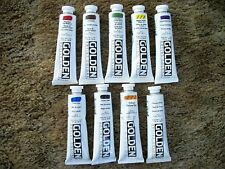 Golden Heavy-body Acrylic Paint 9 - 2 ounce Tubes Lot 10