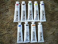 Golden Heavy-body Acrylic Paint 9 - 2 ounce Tubes Lot 10