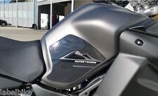 2 PROTEZIONI LATERALI 3D SERBATOIO compatibili x MOTO YAMAHA SUPER TENERE carbon