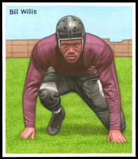 Helmar Original Art Gouache by S. Verma published Bill Willis trailblazer Ohio