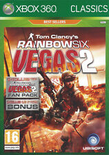 RAINBOW SIX VEGAS 2 for Xbox 360 - with box & manual - PAL
