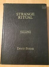 Strange Ritual Hardcover by David Byrne Travelogue Photo Book Rare talking heads