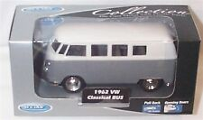 1962 VW Classic Bus Grey 1-38 Scale  Mib