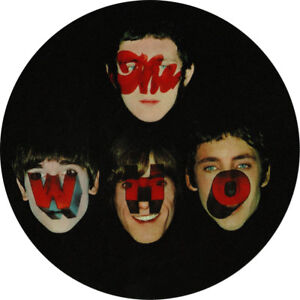 The Who. Record Label Vinyl Stickers. Brunswick, Track, Reaction, My Generation