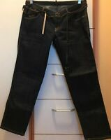 EUC Authentic Dsquared2 Denim Dark Blue Cropped Jeans EU 40