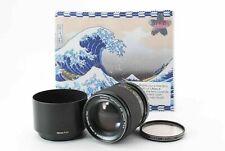 RARE! [exc+5] KONICA HEXANON AR 100mm f/2.8 MF Lens w /Hood From JAPAN #17
