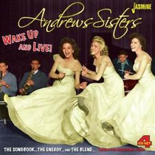 Wake Up & Live: Songbook - 4 DISC SET - Andrews Sisters (2014, CD NEUF)