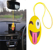 New CAR Interior EMOJI Style *TONGUE* Mirror Hanging Hanger Accessory QUALITY