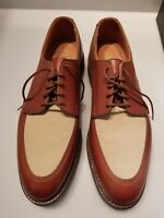 Polo Ralph Lauren Spectator Shoes size10 Benchmade In England...NEW