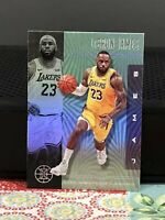 LeBRON JAME 2019-20 PANINI CHRONICLE ILLUSIONS LAKERS #20 (EMERALD GREEN SP)
