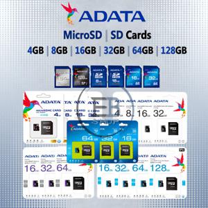 Adata Micro SD Card 4gb 8gb 16gb 32gb 64gb 128gb Memory Phone Android lot Fast
