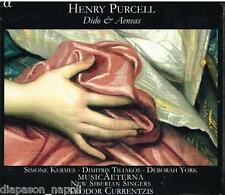 Purcell: Dido & Aeneas / Currentzis, Kermes, York, MusicAeterna CD