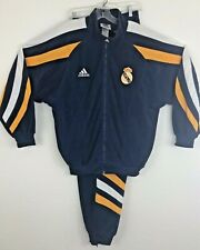 Real Madrid Adidas Vintage Early 90's Men's Track Suit LARGE - NWT