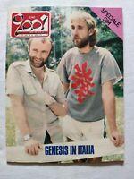 CIAO 2001 N. 36 1982 GENESIS JACKSON BROWNE LELLO ARENA WILLY DE VILLE