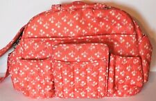 Lug Travel TUK TUK Baby Diaper Gym Carryall Ovenight Bag Orange Great Condition