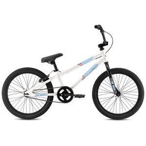 """2021 SE Bikes Bronco 20"""" White BMX Bike"""