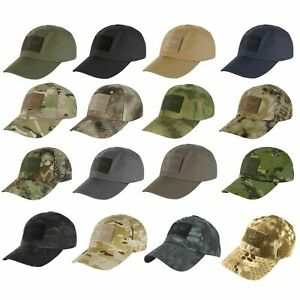 Condor TC Contractor Operator Hunting Hiking Tactical Baseball Patch Cap Hat