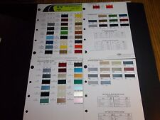 1976 GENERAL MOTORS PAINT CHIPS BUICK CADILLAC CHEVROLET OLDSMOBILE PONTIAC OPEL