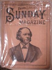 T. DeWitt Talmage 1883 Signature and Magazine - Bible