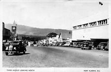 Photo. ca 1949. Port Alberni, BC Canada. 3rd Ave