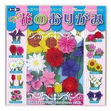 45 Sheets Japanese Origami Paper Flower Folding Set 6 Inches S-3596