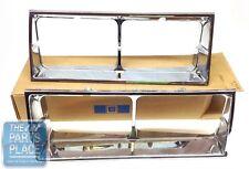 81-86 Cutlass Headlamp Bezels GM Original - GM NOS # 22506532 & 22506533 Pair