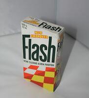 Vintage Retro Unused Flash Cleaning Powder Unopened