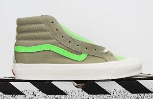 NIB VANS Men's OG Style 138 LX Pastel.Suede Canvas High Top Sneakers Skate Shoes