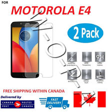 Fits Motorola Moto E4 Premium Tempered Glass Screen Protector