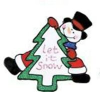 Christmas Window Cling Sticker Decoration Snowman Santa Father Christmas 075533