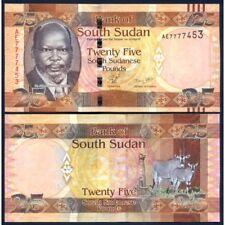 SOUTH SUDAN  25 Pounds 2011 UNC P 8