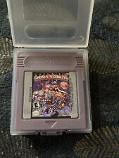 • Ghosts N Goblins •Neuf•Nintendo Game Boy Advance •Cartmob •GBA SP GBC•anglais•