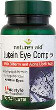 Lutein Augen Komplex 10 Heidelbeere and Alpha Liponsäure Säure 30 Tabletten