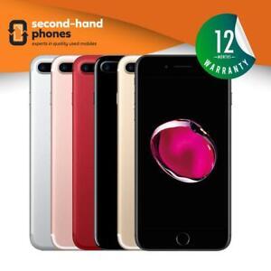 Apple iPhone 7 Plus 32GB 128GB 256GB Unlocked Jet/Black/Silver/Gold/Rose/Red