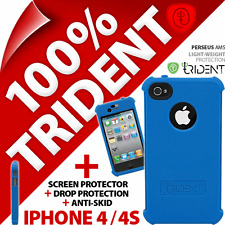New Trident Perseus AMS Protective Case For Apple iPhone 4 4S + Screen Protector