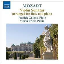 Violin Sonatas Arr. for Flute & Piano, New Music