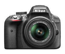 Nikon D D3300 24.2 MP Digital SLR Camera - Black (Kit w/ AF-S DX VR II 18-55mm L