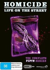 C11 BRAND NEW SEALED Homicide - Life On The Street : Series 5 (DVD, 2011 6-Disc)