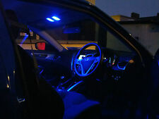 BLUE 1 SIDED LED SMD INTERIOR DOOR FOOTWELL PUDDLE LIGHTS 501 W5W WEDGE PUSH FIT
