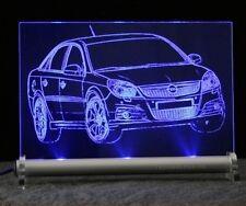 Opel Vectra C GTS - als AutoGravur auf LED-Leuchtschild