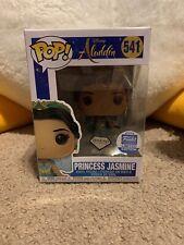 Funko Pop! Princess Jasmine Diamond Collection Disney Aladdin Funko Exclusive