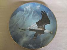 AMERICAN BALD EAGLE collector plate TED BLAYLOCK Bird WILDLIFE