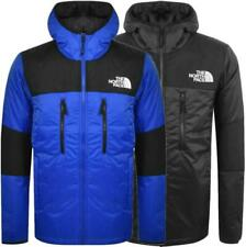 The North Face Himalayan Mens Jackets Light Synthetic Insulated TNF Black Blue