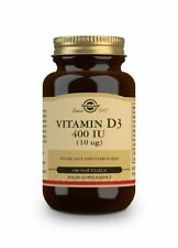 SOLGAR Vitamina D3 400 UI (10 μg) - 100 cápsulas blandas