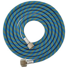 """6' BRAIDED AIRBRUSH HOSE 1/4"""" - 1/8"""" Fitting Ends Coupling Adapter Iwata Master"""