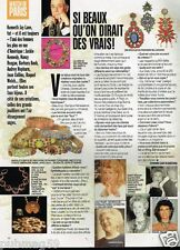 Coupure de Presse Clipping 1997 (1 page) Les Bijoux de Kenneth Jay lane