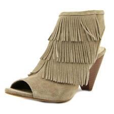 Sandalias y chanclas de mujer de color principal beige ante talla 38