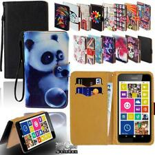 Cuero Abatible Tarjeta Billetera De pie Cubierta Funda De Teléfono Para Nokia 1 2 3 4 5 Serie